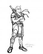 TMNT рисунки от Kataoko - Леонардо из фильма2.jpg