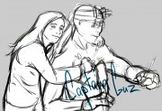 TMNT рисунки от Rurim - я и дон2.jpg