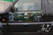 Изображения TMNT, их символика и т.п. на различных предметах - Авто2.jpg