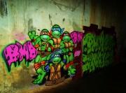 Изображения TMNT, их символика и т.п. на различных предметах - Граффити7.jpg