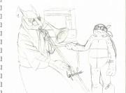 TMNT рисунки от Rurim - when older bros isnt home.jpg