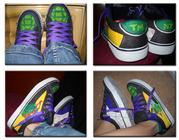 Изображения TMNT, их символика и т.п. на различных предметах - Shoe_Design_01__Ninja_Turtles_by_LimeGeen.png