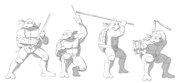 TMNT рисунки от Michelangelo - OT_Turtles_shade.jpg