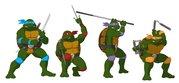 TMNT рисунки от Michelangelo - OT_Turtles_color.jpg