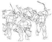 TMNT рисунки от Michelangelo - 2k3.jpg