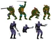 TMNT рисунки от Michelangelo - TMNT_4_colored.jpg