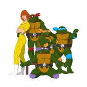TMNT рисунки от Michelangelo - movie_coloured1.jpg