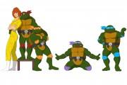 TMNT рисунки от Michelangelo - movie_coloured.jpg