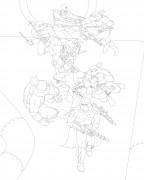TMNT рисунки от Michelangelo - Martial arts.jpg