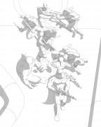TMNT рисунки от Michelangelo - Martial arts_shade.jpg