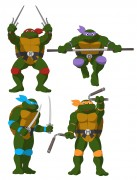 TMNT рисунки от Michelangelo - Destroyed_coloured.jpg