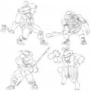 TMNT рисунки от Michelangelo - Turtlestones.jpg