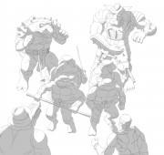 TMNT рисунки от Michelangelo - Tales_2_shade.jpg