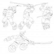 TMNT рисунки от Michelangelo - 2012.jpg