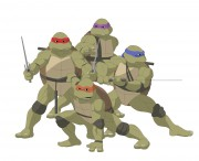 TMNT рисунки от Michelangelo - Movie_group.jpg