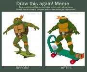 TMNT рисунки от Michelangelo - Draw.jpg