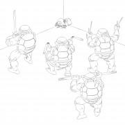 TMNT рисунки от Michelangelo - Mouser.jpg
