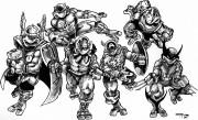 TMNT рисунки от Michelangelo - Marvel_el.jpg