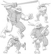 TMNT рисунки от Michelangelo - Kirby_shade.jpg