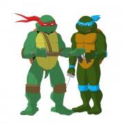 TMNT рисунки от Michelangelo - meet_colored.jpg