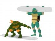 TMNT рисунки от Michelangelo - meet4_colored.jpg