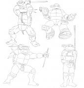 TMNT рисунки от Michelangelo - first_drawing.jpg