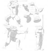 TMNT рисунки от Michelangelo - first_drawing_shade.jpg