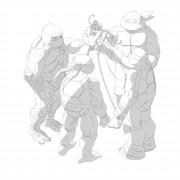 TMNT рисунки от Michelangelo - MW_shade.jpg