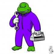 TMNT рисунки от Michelangelo - fallout_donnie_coloured.jpg