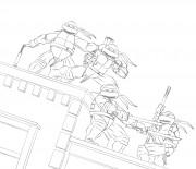 TMNT рисунки от Michelangelo - Rooftop.jpg