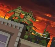 TMNT рисунки от Michelangelo - Rooftop_colored.jpg