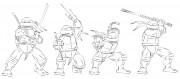 TMNT рисунки от Michelangelo - Turtles_wall.jpg