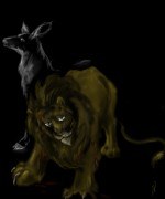 Kaleo s Art - Lion and Doe+ .jpg