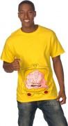 Изображения TMNT, их символика и т.п. на различных предметах - Кренг - футболка.jpg