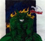21.03.2010 Рисовал на уроке =  - Green goblin.jpg
