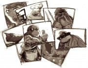 TMNT рисунки от viksnake - Изображение 058.jpg
