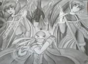 Рисунок к моему фанфу Пророчество Неба  - P7160245.JPG