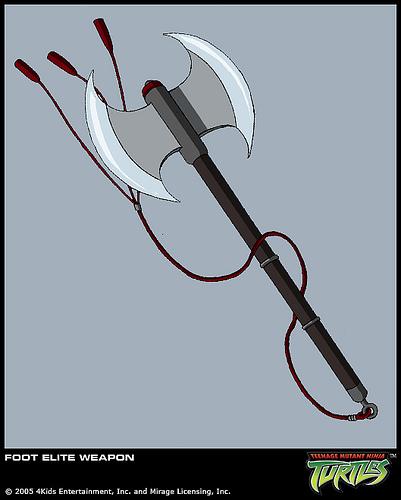 Foot Elite's axe