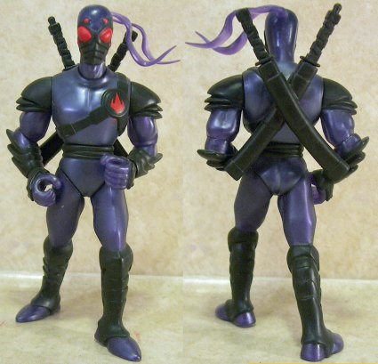 Foot Tech Ninja's figure