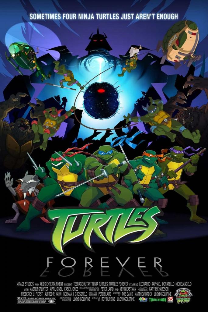 TMNT: Turtles Forever (poster)