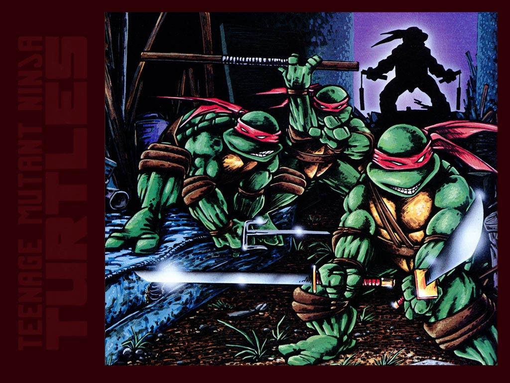 TMNT wallpaper bases on comics (4)