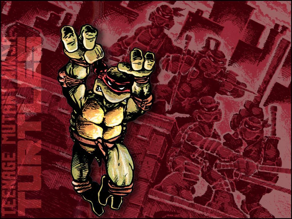 TMNT wallpaper bases on comics (5)
