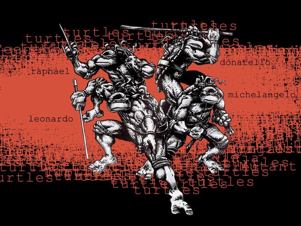 TMNT wallpaper bases on comics (8)
