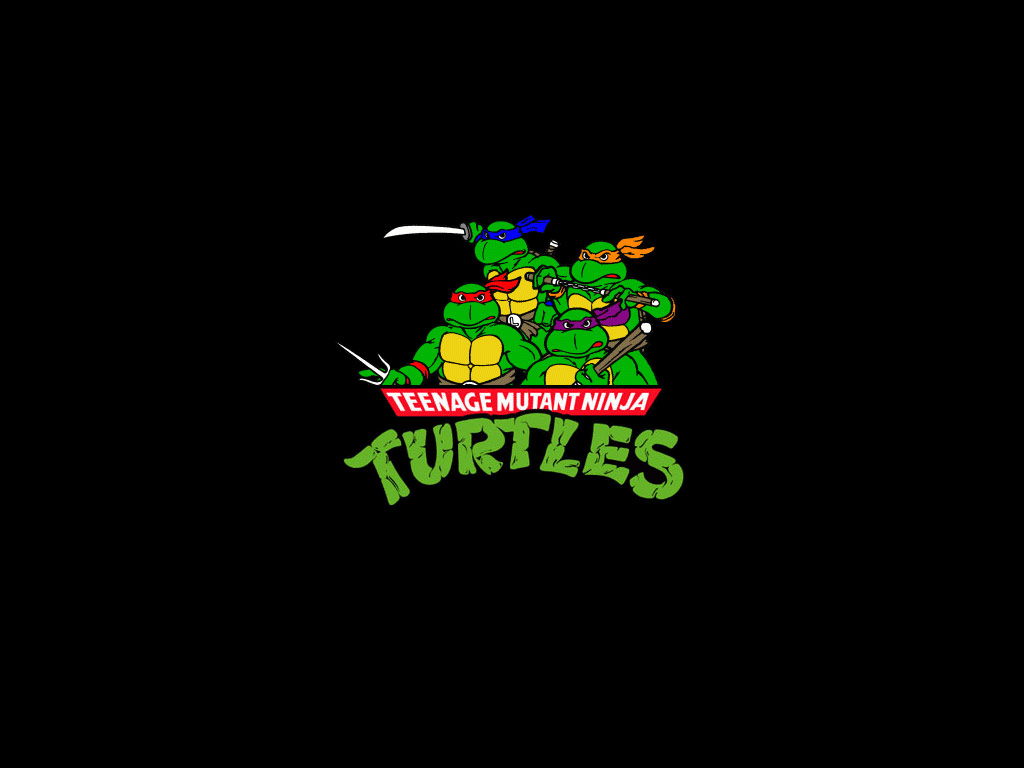 TMNT wallpaper 1987-1996 series (1)