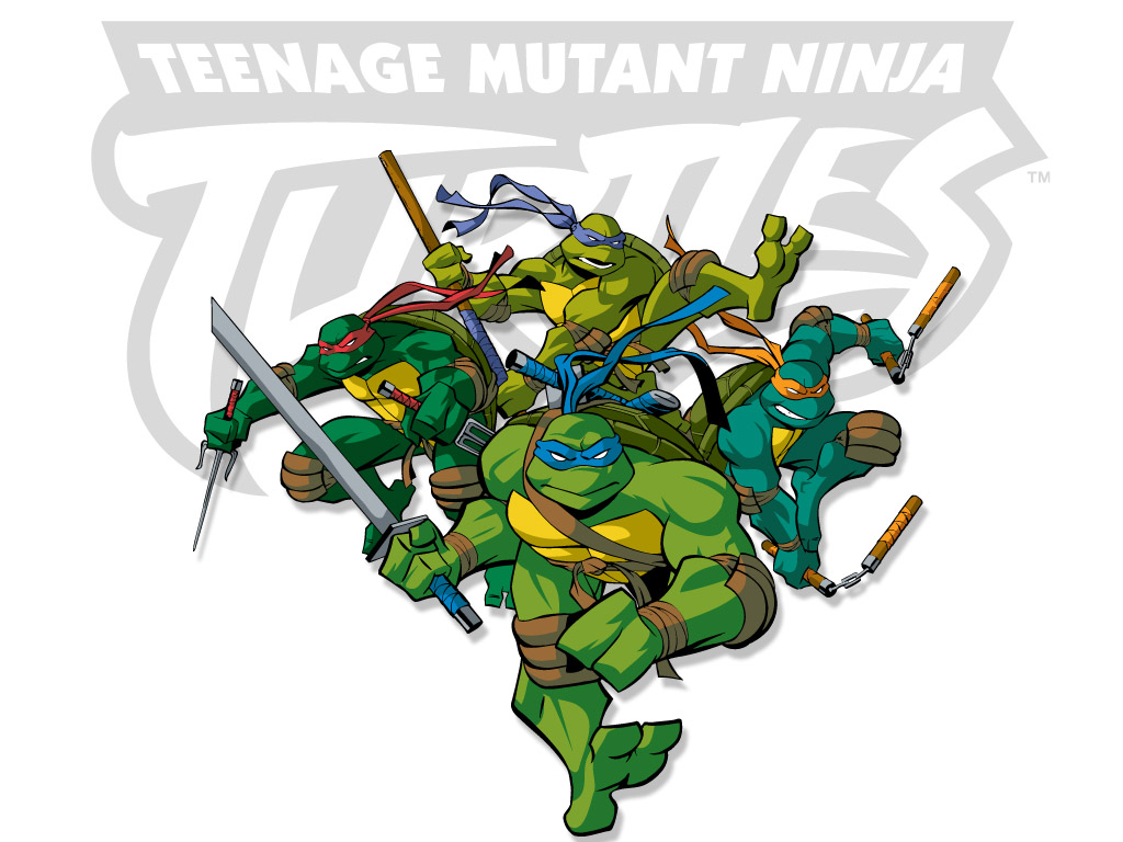 TMNT wallpaper 2003-2009 series (5)