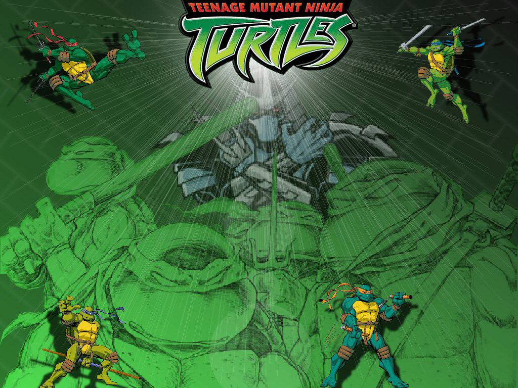 TMNT wallpaper 2003-2009 series (51)