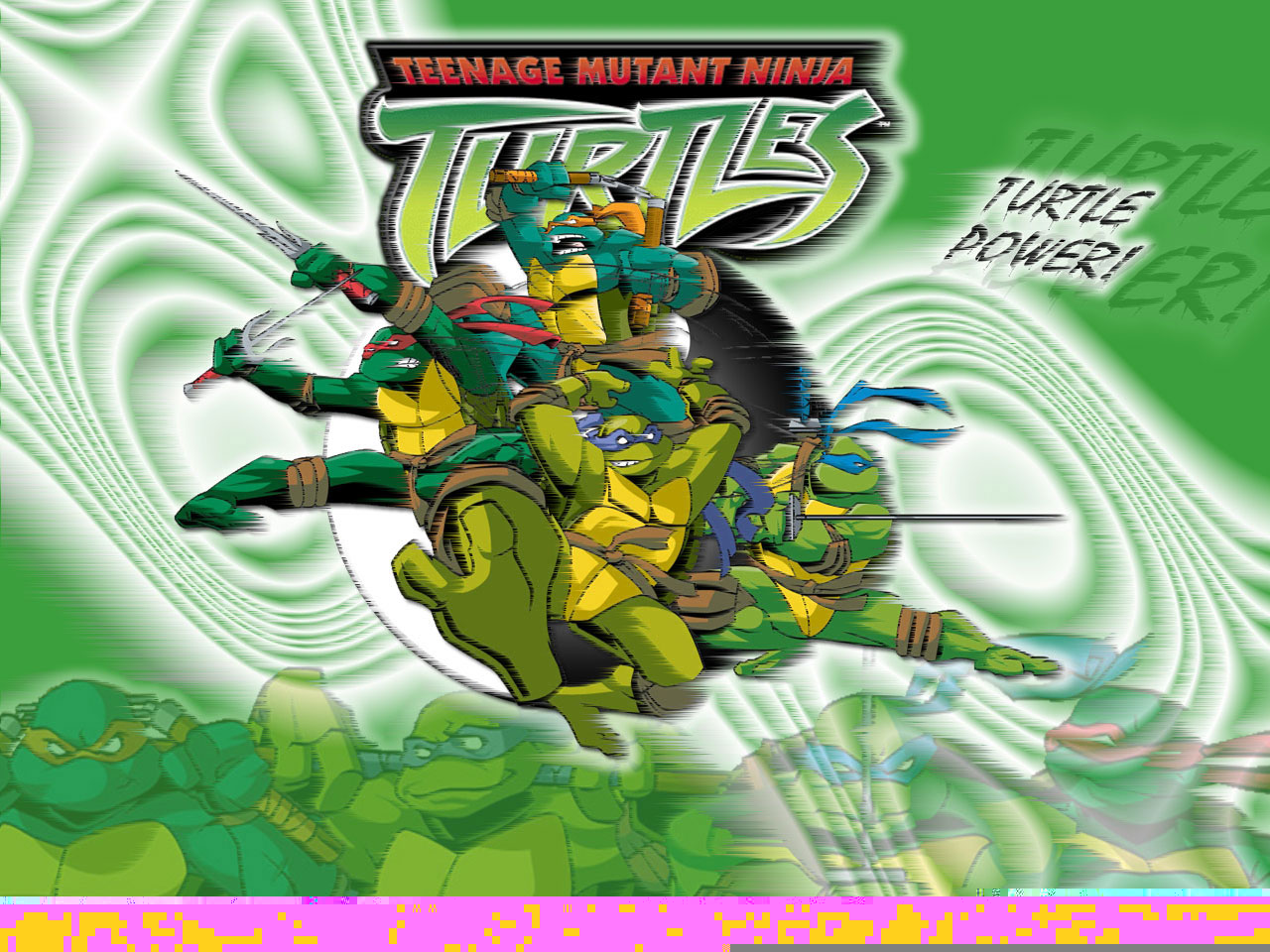 TMNT wallpaper 2003-2009 series (53)