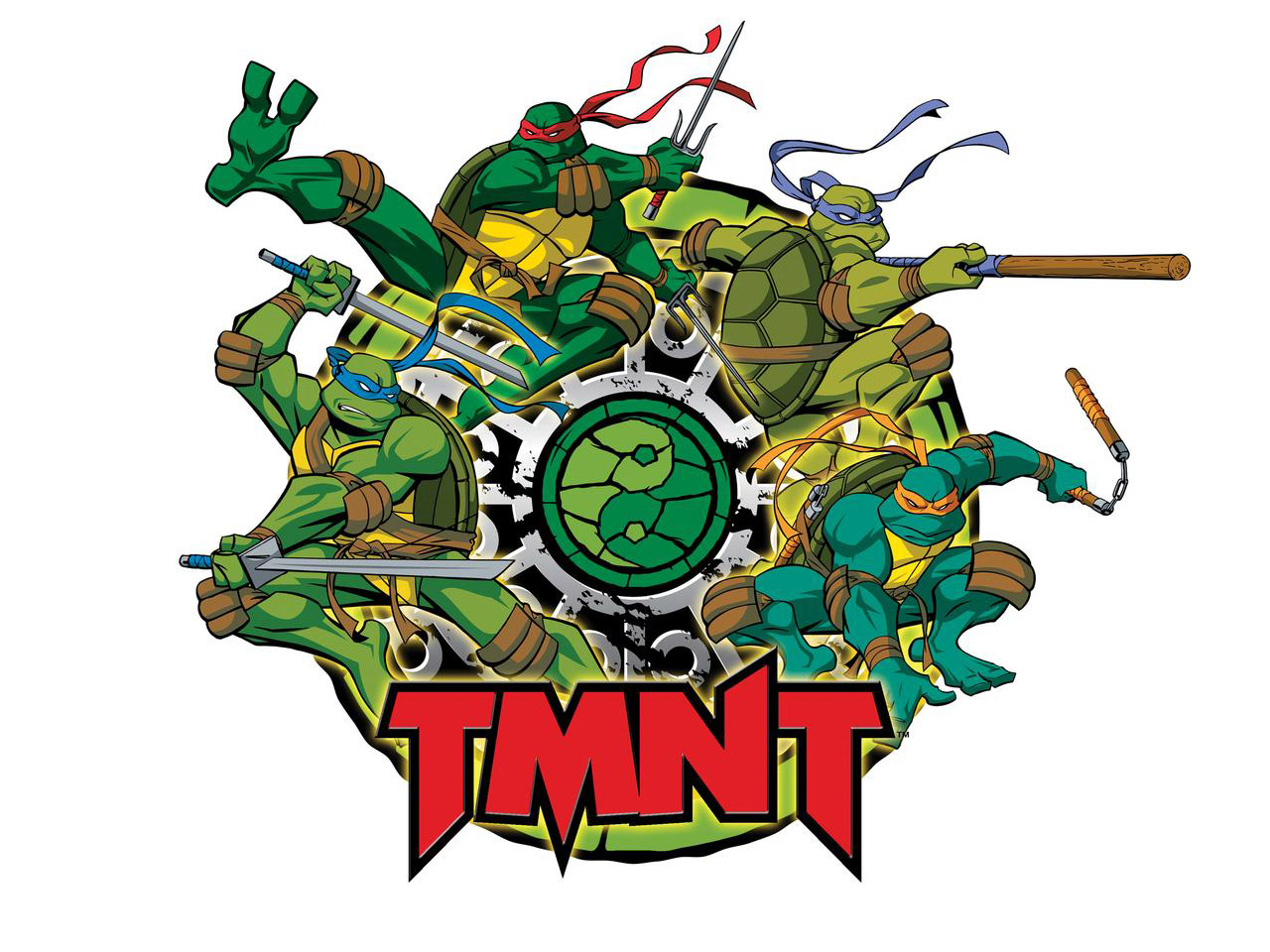 TMNT wallpaper 2003-2009 series (9)