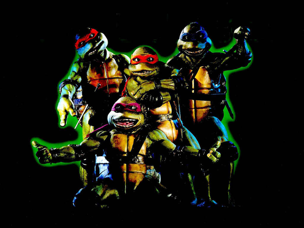TMNT wallpaper bases on films (1)