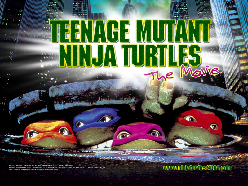 TMNT wallpaper bases on films (7)